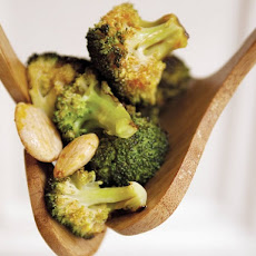 Food52's Roasted Broccoli with Smoked Paprika Vinaigrette and Marcona Almonds