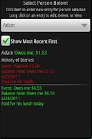 Screenshot of Pay You Later     (IOU)