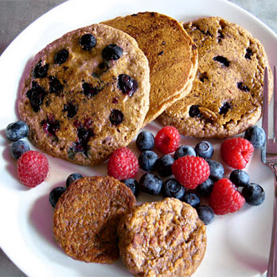 Moby's Vegan Blueberry Pancakes