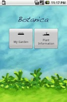 Screenshot of Botanica