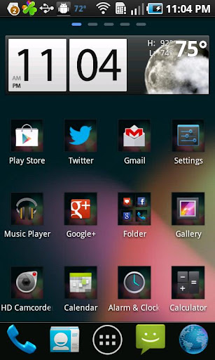 GO Launcher Jelly Bean Theme
