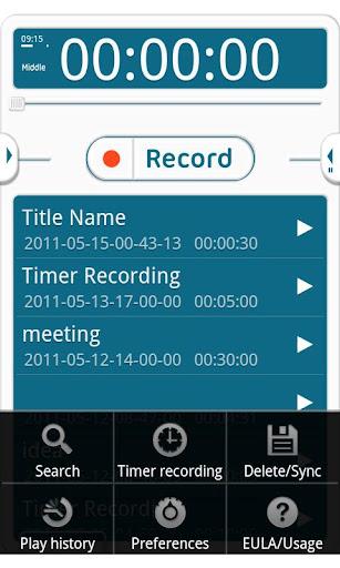 【免費生產應用App】VoiceRecorder Pro-APP點子