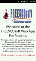 Screenshot of Freescosoft Web App
