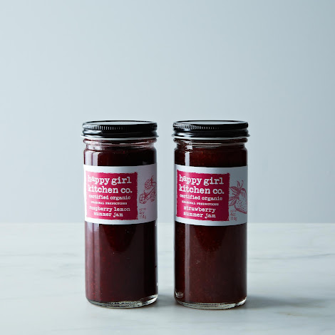 Raspberry Lemon and Strawberry Jam Duo from Happy Girl Kitchen