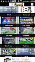 Screenshot of WETM 18 Storm Team