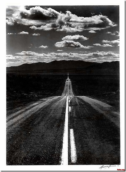 [Foto] Ansel Adams Estrada de Nevada