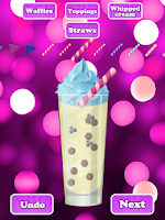 Screenshot of Celebrity Milkshakes FREE