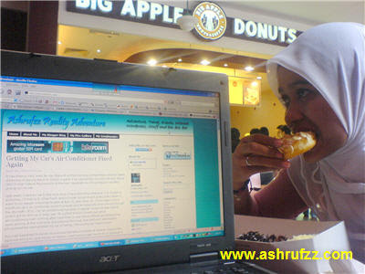 Having a Treat at Big Apple Donuts The Curve Mutiara Damansara