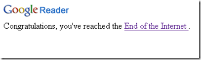 google endofinternet
