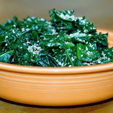 Kale with Gomasio