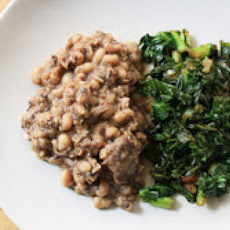 Black Eyed Peas with Ham Hock