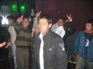 cara de borracho en fiesta