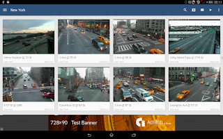 Screenshot of Webcams