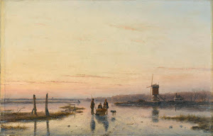RIJKS: Andreas Schelfhout: painting 1862