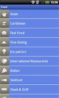 Screenshot of Aruba App