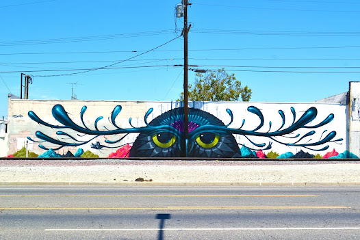 There dedication to capturing the ongoing transformation of the Los Angeles Streets has made them a large, trusted, collaborative part of the street art community.