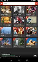 Screenshot of Image Search