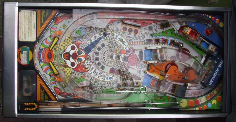 shiny pinball ramps