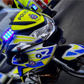 Police bike by Nic Scott - Transportation Motorcycles ( motorbike, police,  )