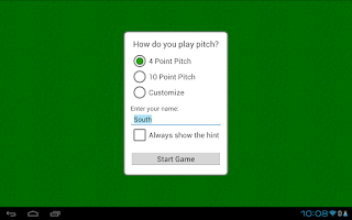 Screenshot of Pitch