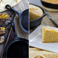 Grilled Corn Cast Iron Skillet Corn Bread