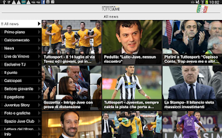 Screenshot of TuttoJuve