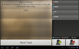 Screenshot of XXL Booze Drinking Game