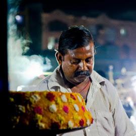 Chat Wala by Jagannath Swain - City,  Street & Park  Markets & Shops