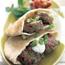 Turkish Lamb Pitas with Tomato Sauce