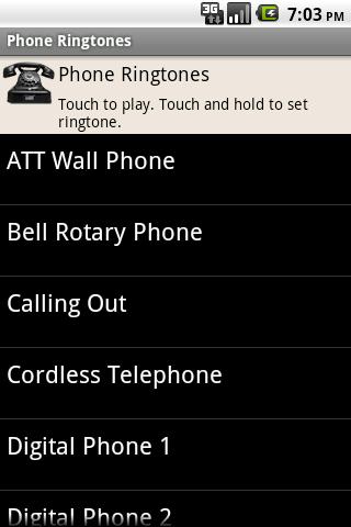 Phone Ringtones