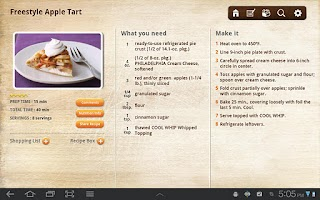 Screenshot of iFood Assistant Tablet