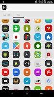 Screenshot of Hydrox - Icon Pack