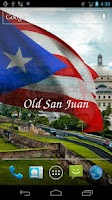 Screenshot of 3D Puerto Rico Flag LWP
