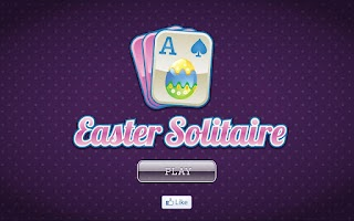Screenshot of Easter Solitaire and Freecell