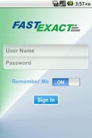Screenshot of FastExact