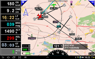 Screenshot of FLY is FUN Aviation Navigation