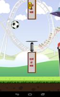 Screenshot of Football Keepy ups Soccer Game