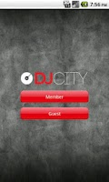 Screenshot of DJcity