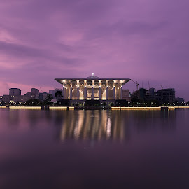 Purple Hour by Jali Razali - Buildings & Architecture Other Exteriors