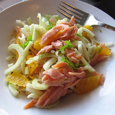 Fennel & Orange Salad with Smoked Trout