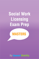 Screenshot of Social Work Master's Exam Prep