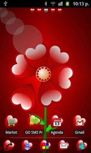 GO Launcher Valentine Theme