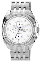Armitron Cushion Case Bracelet Watch, 42mm x 48mm