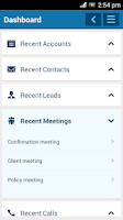 Screenshot of SugarMob: SugarCRM for Mobile