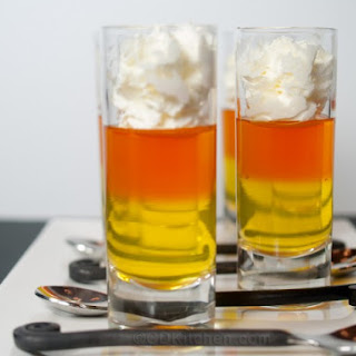 Candy Corn Jello Shooters
