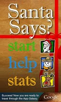 Screenshot of Santa Game: Simon Says