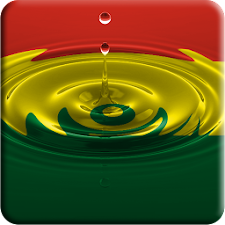 Bolivia flag water effect LWP