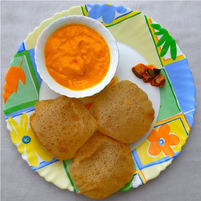 Aam Ras with Puri