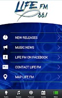 Screenshot of LIFE-FM 88.1 KLFC