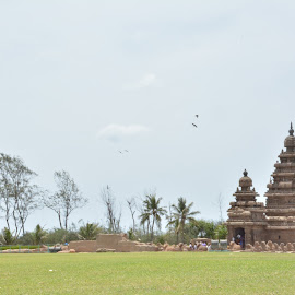 Mahabalipuram. by Jagannath Ganapathi - Buildings & Architecture Public & Historical ( pallavas, accient, india, mahabalipuram, tamil )